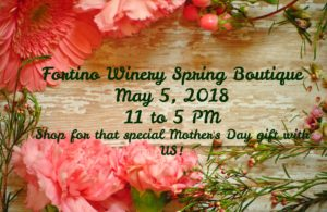 Fortino Winery Spring Boutique @ Fortino Winery